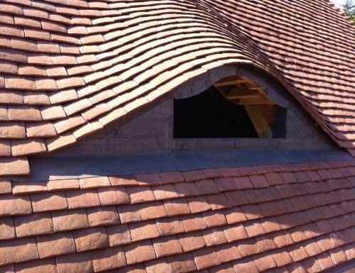 Plain Clay Tiles